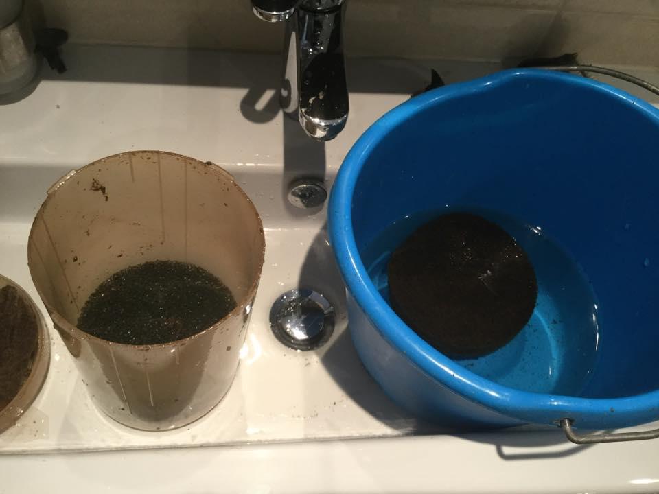 filter schoonmaken