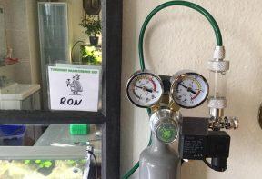 CO2 set in werking